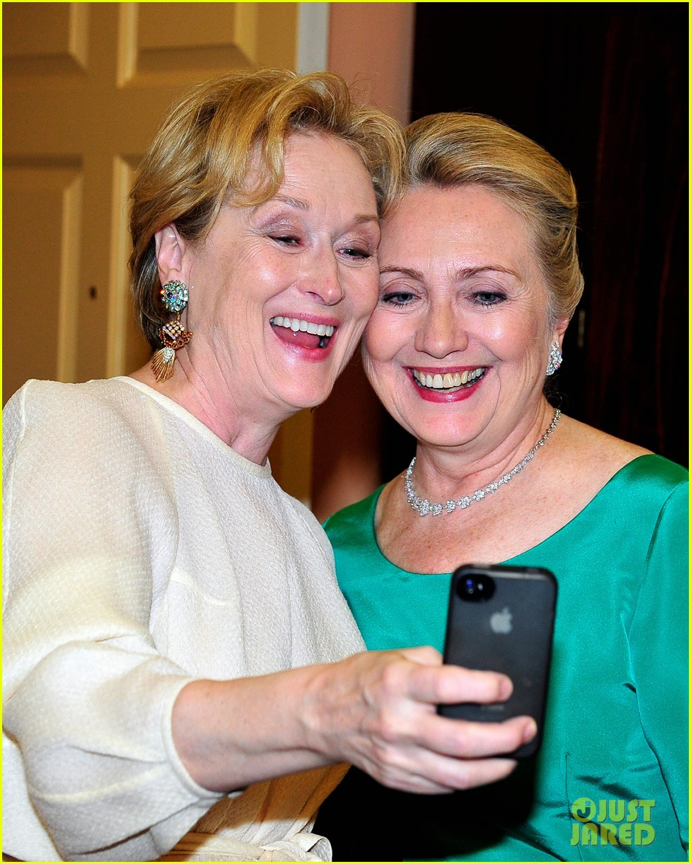 meryl streep hillary clinton say cheese for kennedy center honors 06