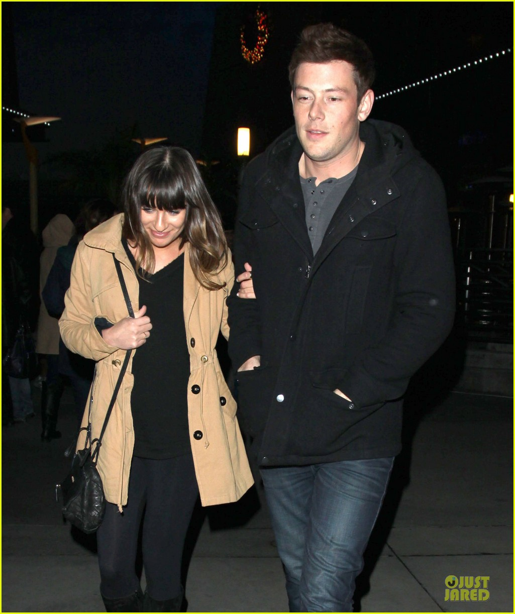 lea michele & cory monteith argo movie date 082778259