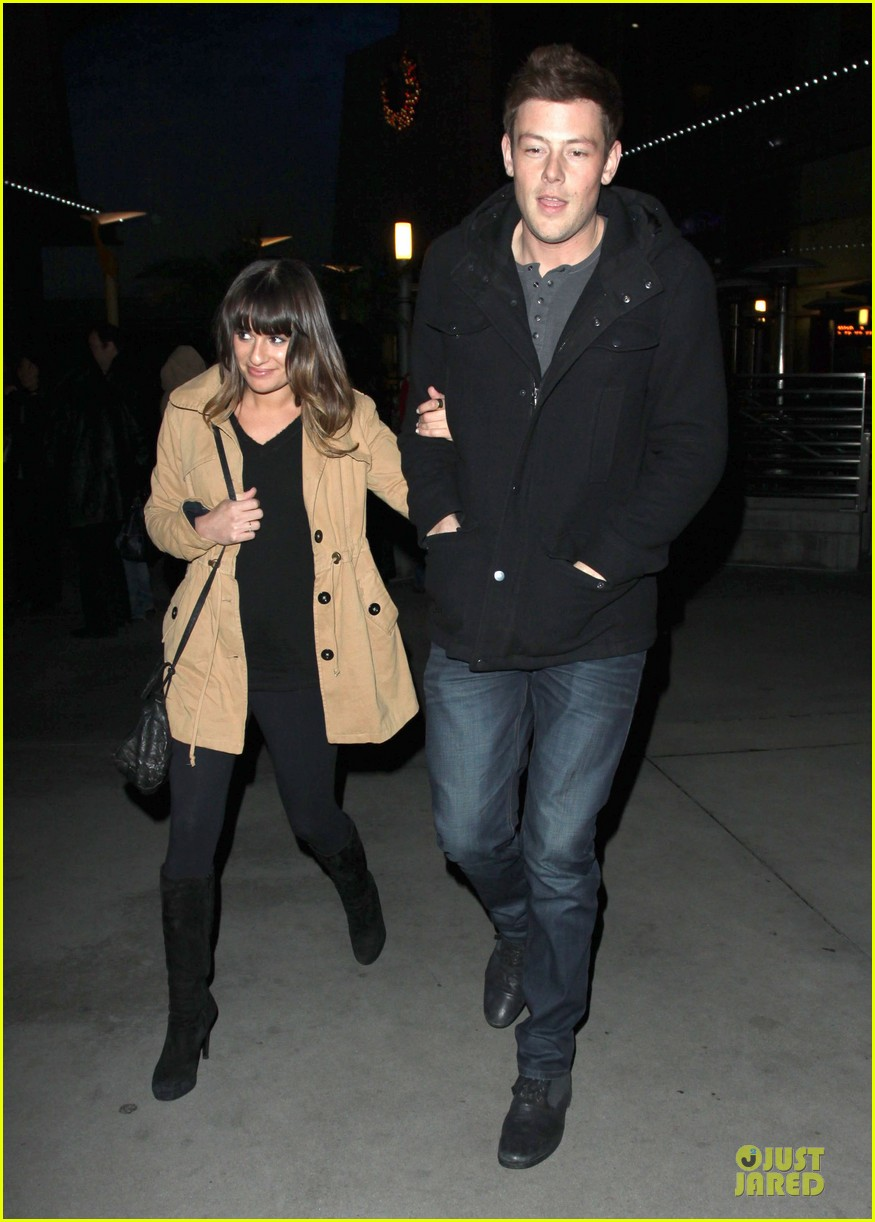 lea michele & cory monteith argo movie date 09