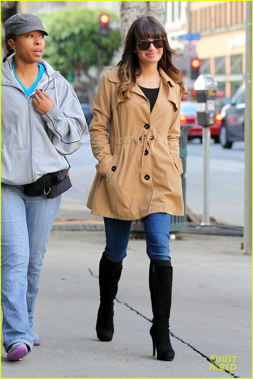 lea michele & cory monteith argo movie date 31