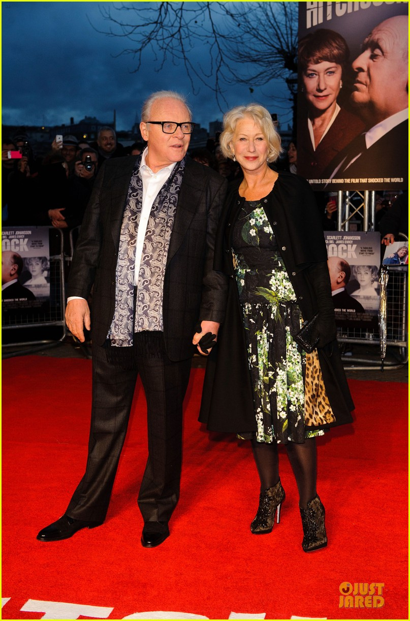 helen mirren & anthony hopkins hitchcock london premiere 11