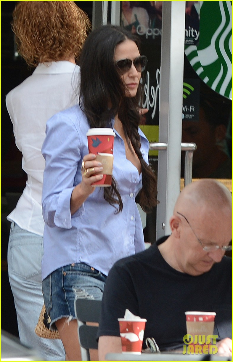 demi moore hits south beach vito schabel goes shirtless 232772740