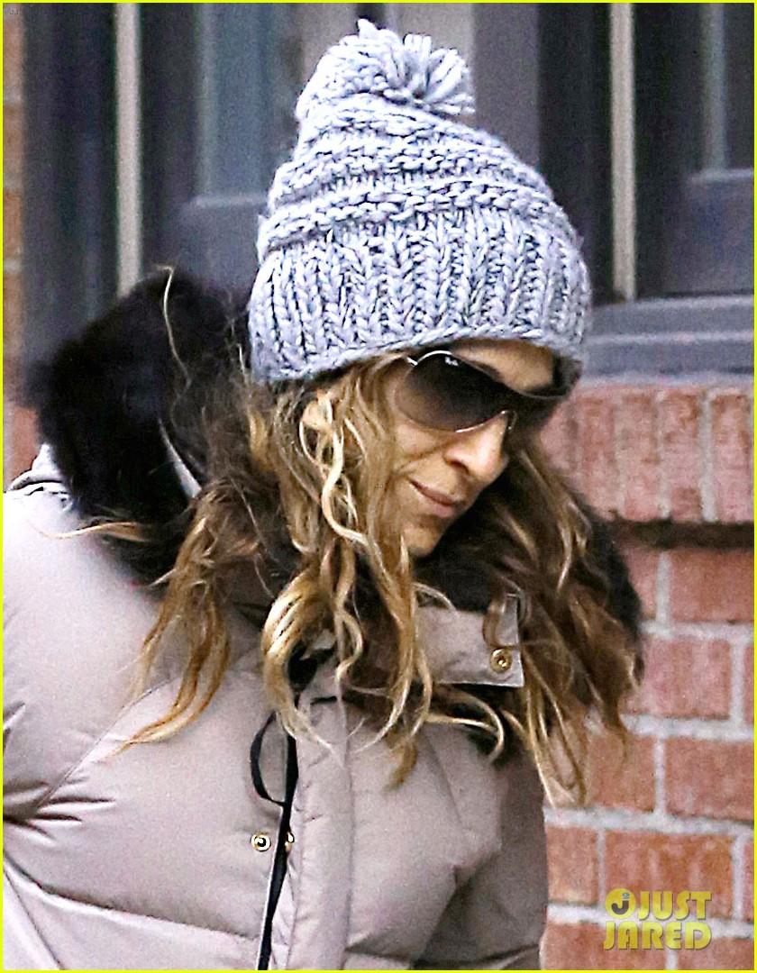 sarah jessica parker post christmas shopping 032782427