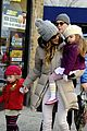 sarah jessica parker & matthew broderick school walk with the twins 02