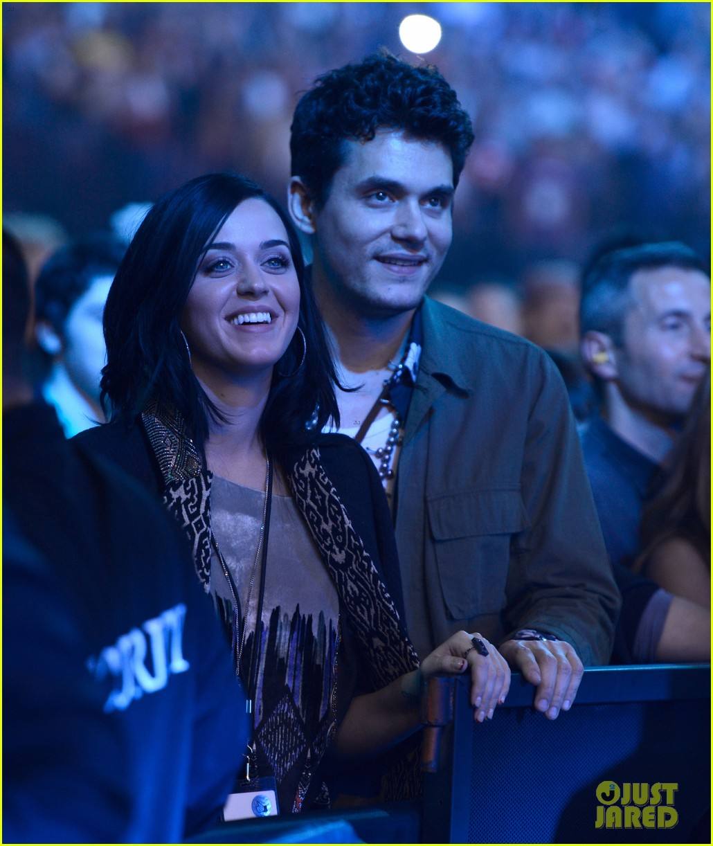 katy perry john mayer rolling stone concert couple 012775793