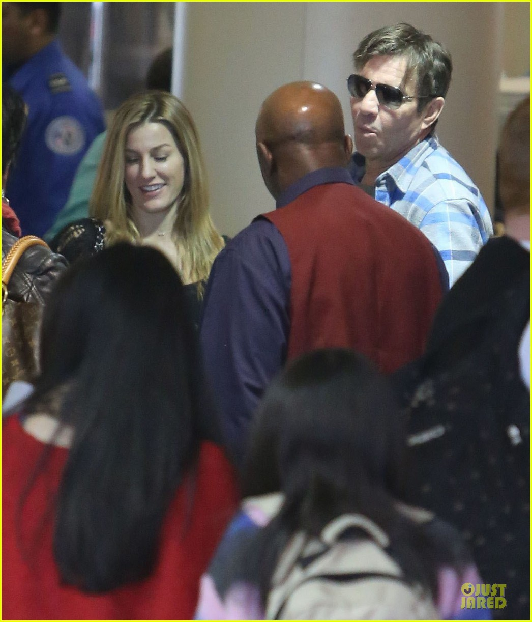 dennis quaid lax departure with a mystery woman 19