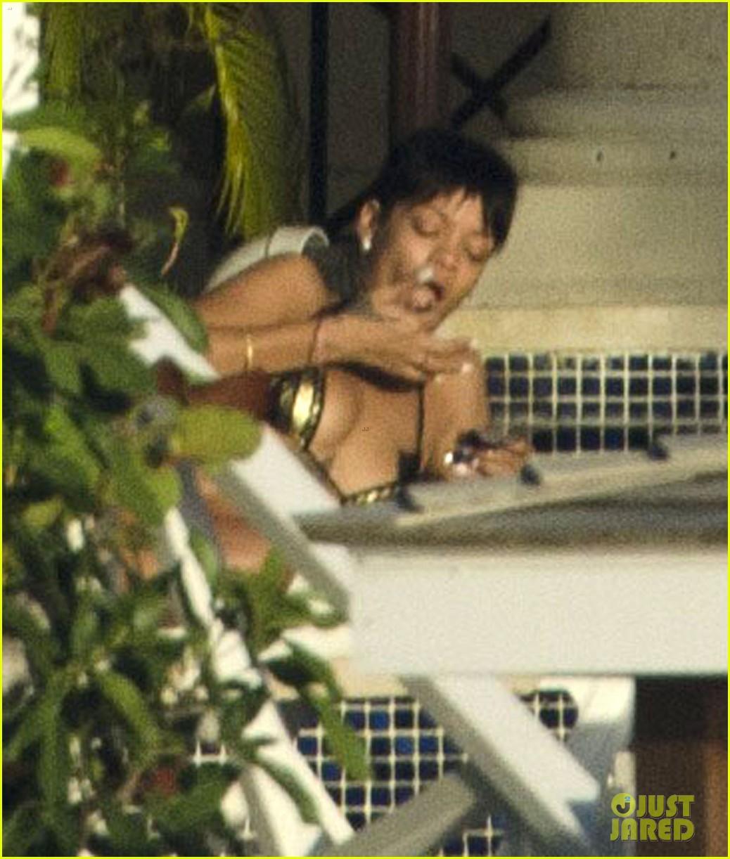 rihanna bikini babe in barbados 082778458