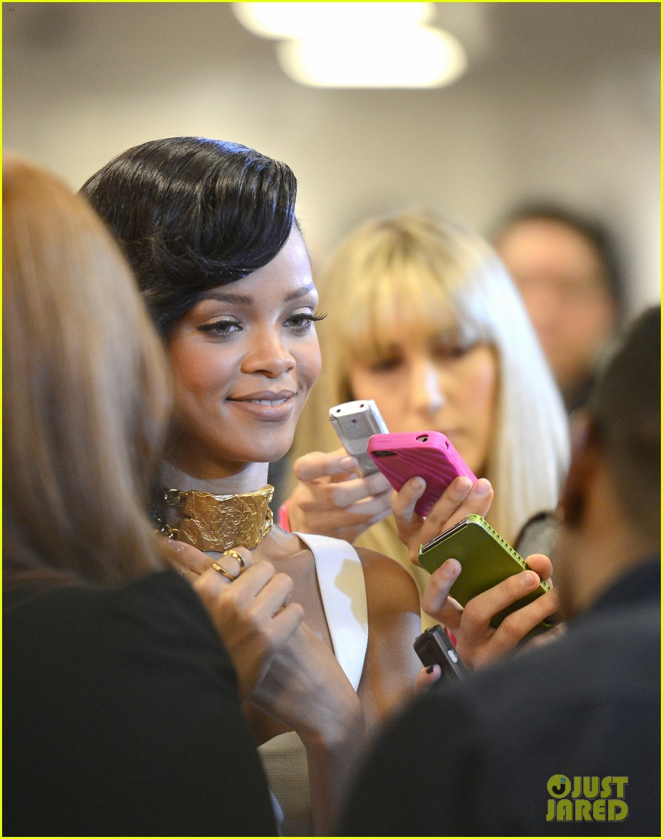 rihanna nude fragrance launch 222767542