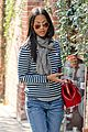 zoe saldana loves the los angeles rain 04