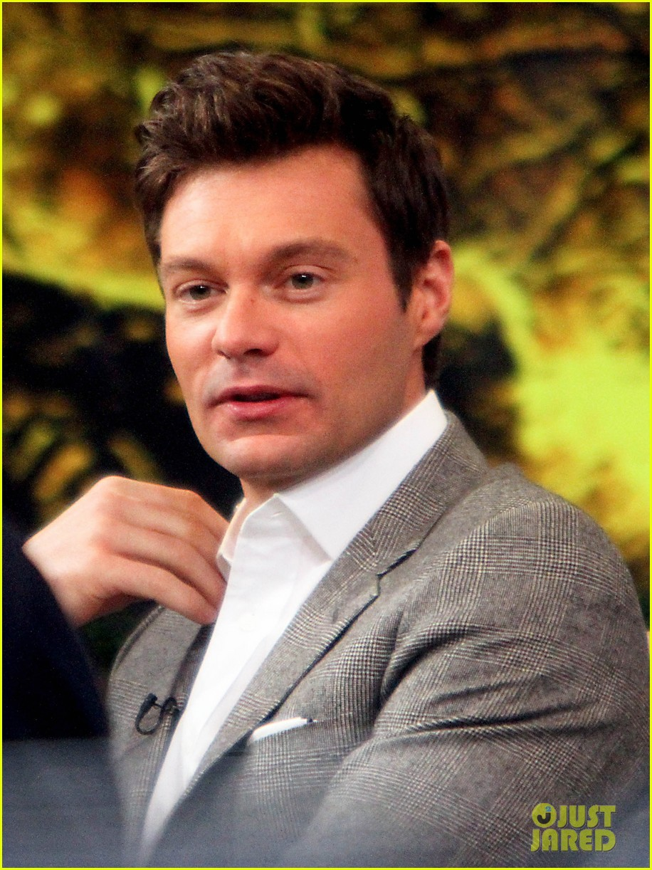 ryan seacrest talks new years eve without dick clark on gma 032781758