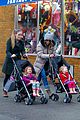 sarah jessica parker bundled up school run 08