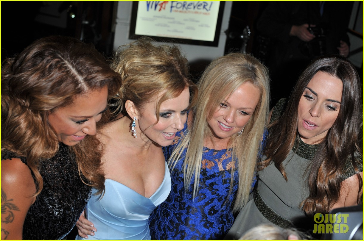 spice girls attend viva forever press night 14