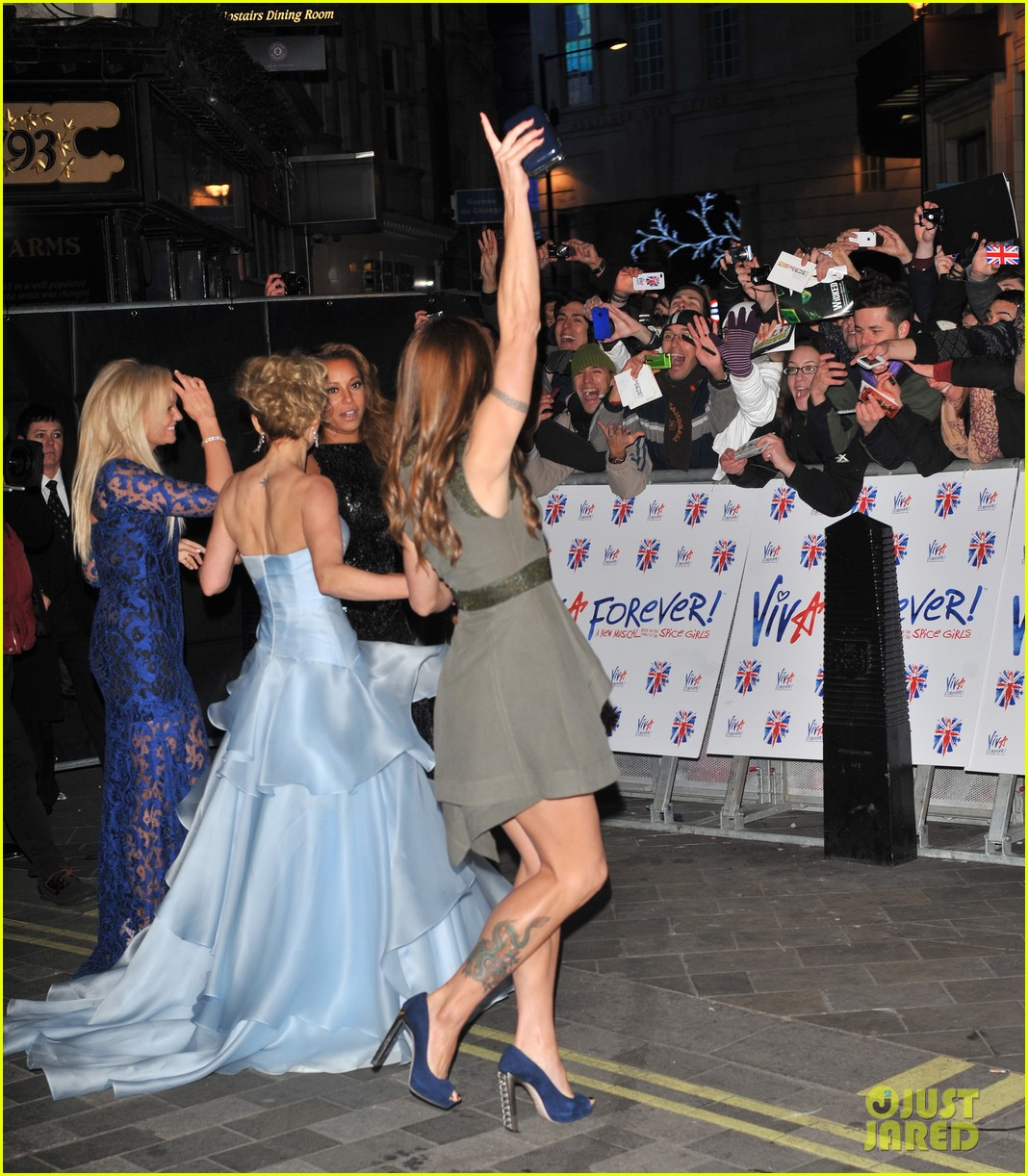 spice girls attend viva forever press night 182773832
