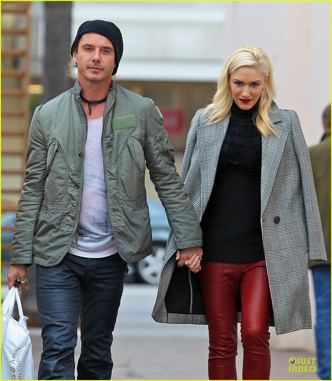 gwen stefani & gavin rossdale holiday shopping couple 02