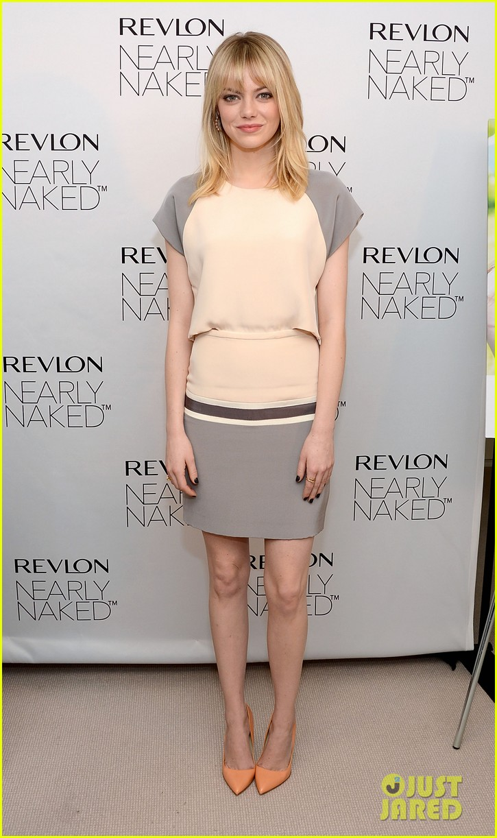 emma stone revlons nearly naked makeup launch 05