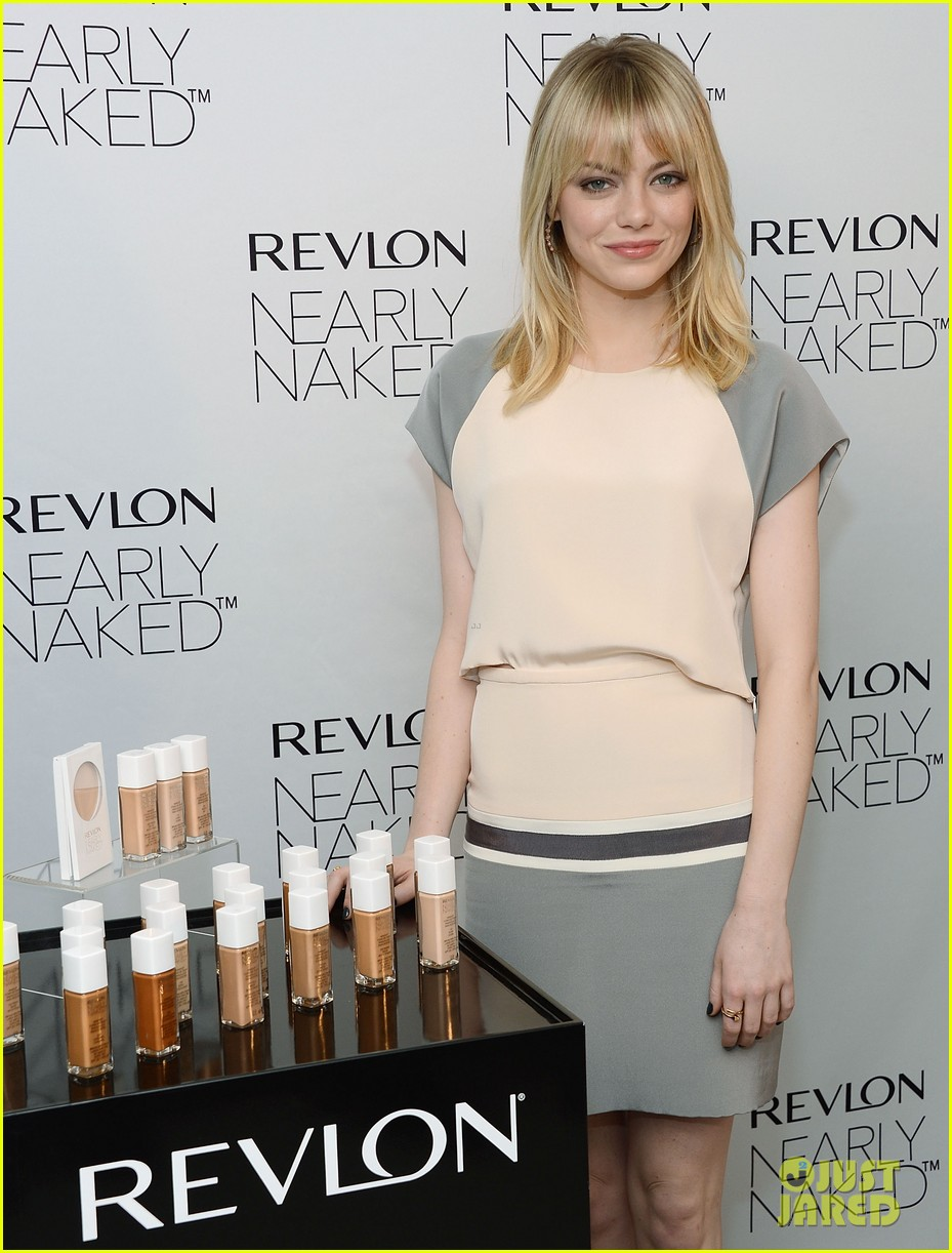 emma stone revlons nearly naked makeup launch 06