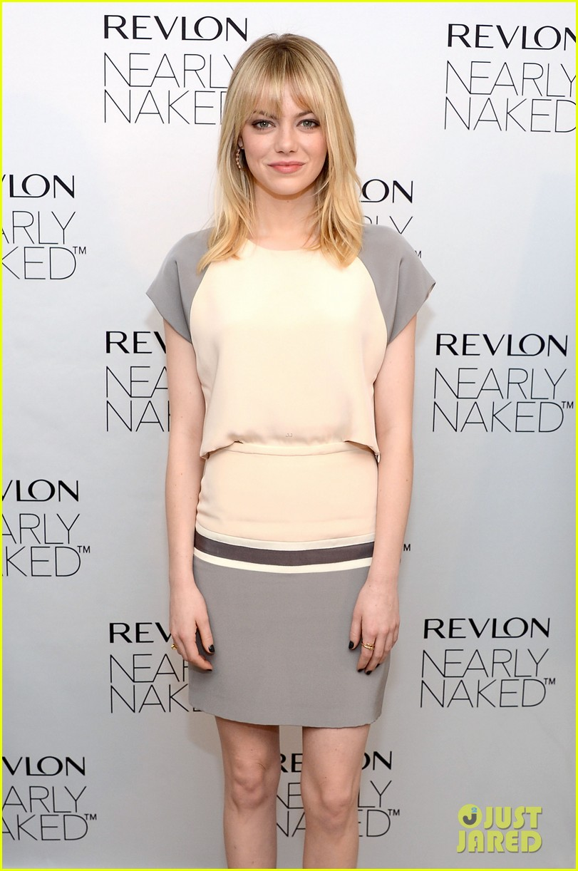 emma stone revlons nearly naked makeup launch 07