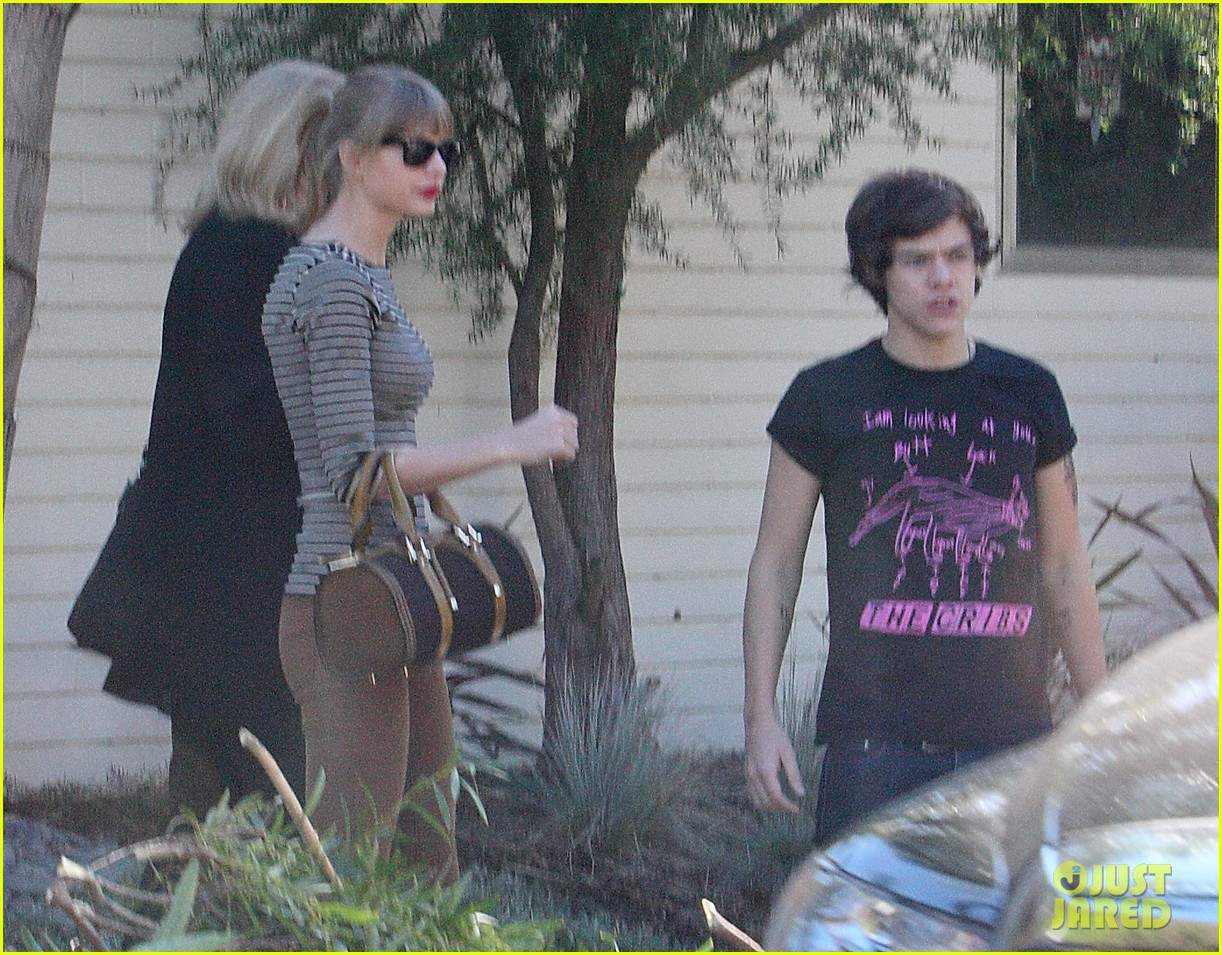 taylor swift harry styles leave her home in la 05