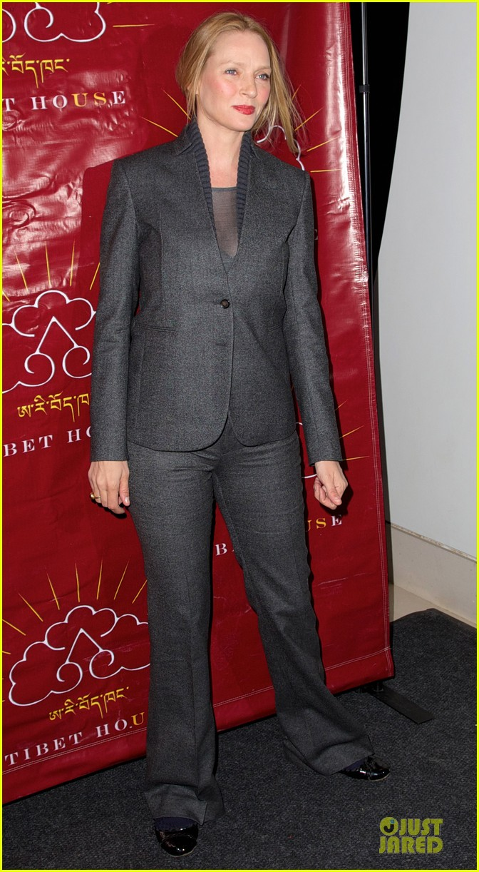 uma thurman tibet house benefit auction 07