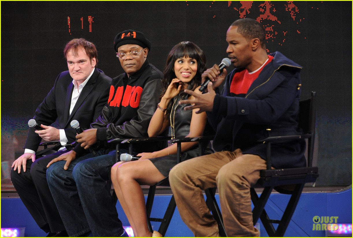 kerry washington & jamie foxx 106 & park appearance 03