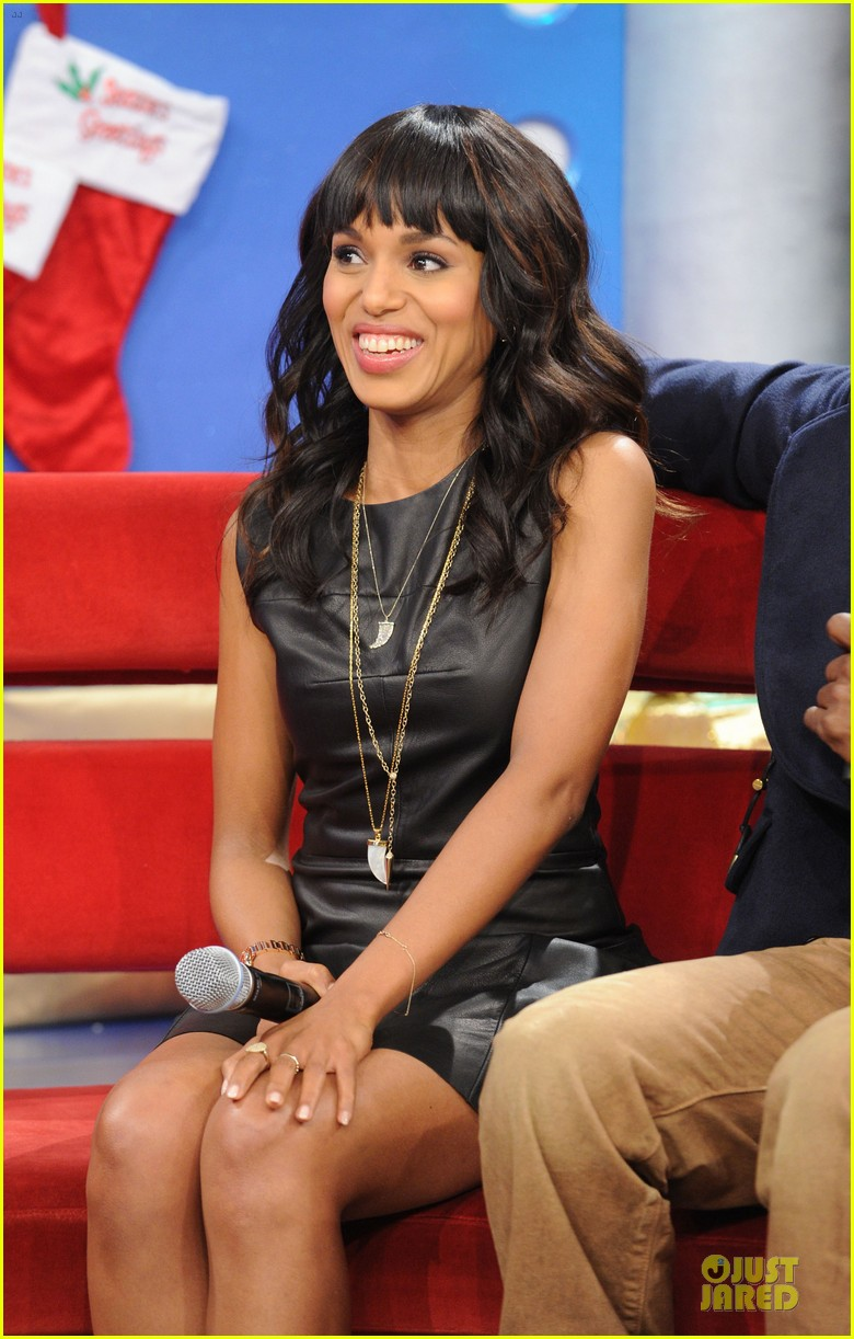 kerry washington & jamie foxx 106 & park appearance 132776287