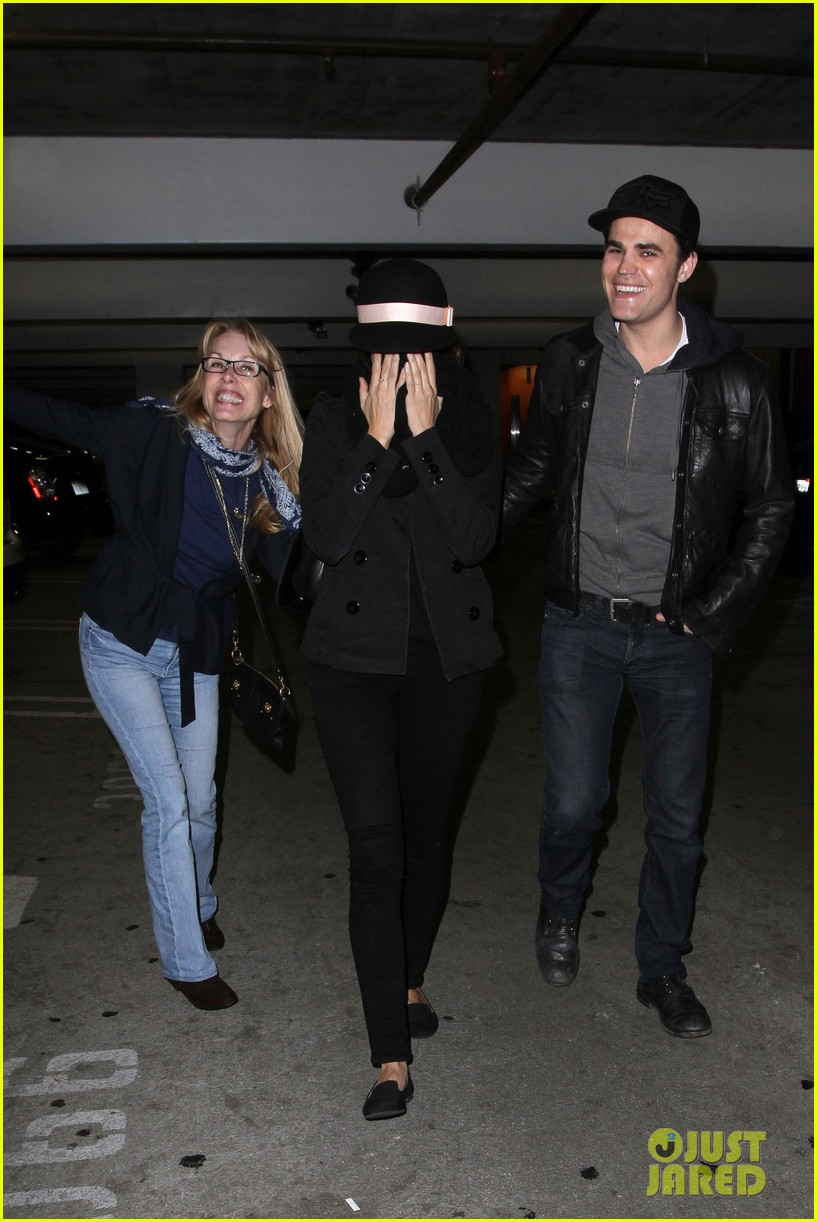 paul wesley torrey devitto les miserables date night 102781304