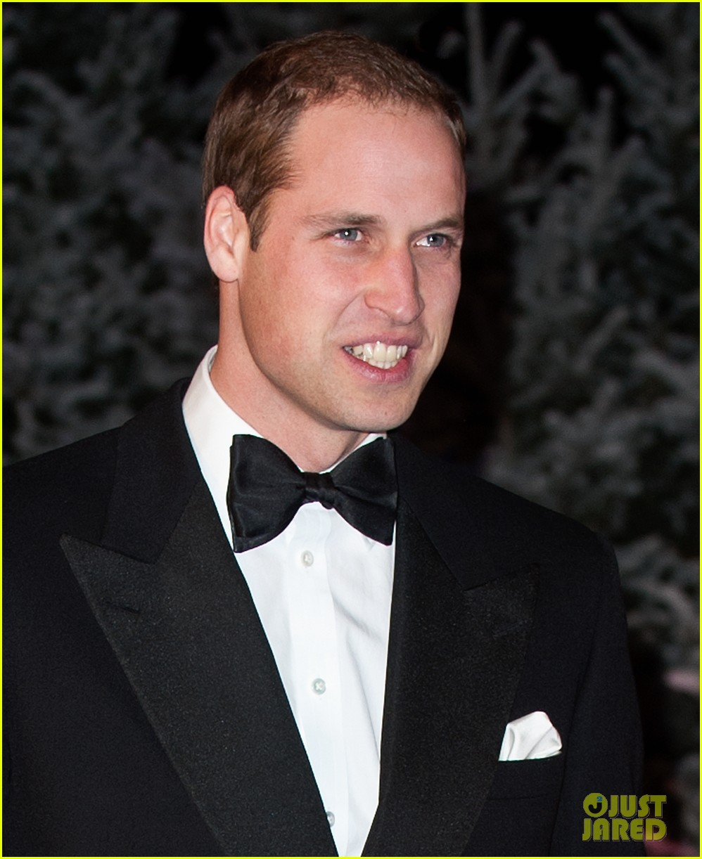 prince william winter whites gala without pregnant kate middleton 132771911