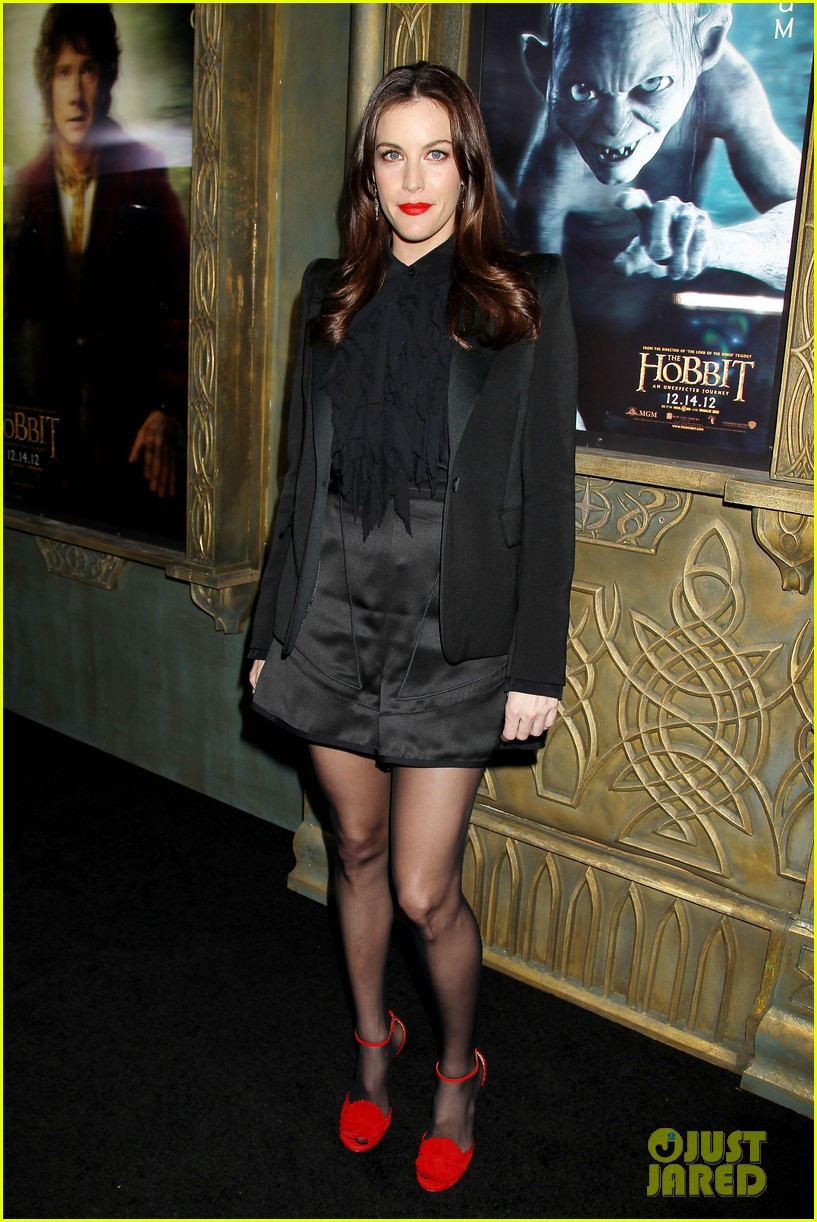 elijah wood liv tyler the hobbit new york premiere 02