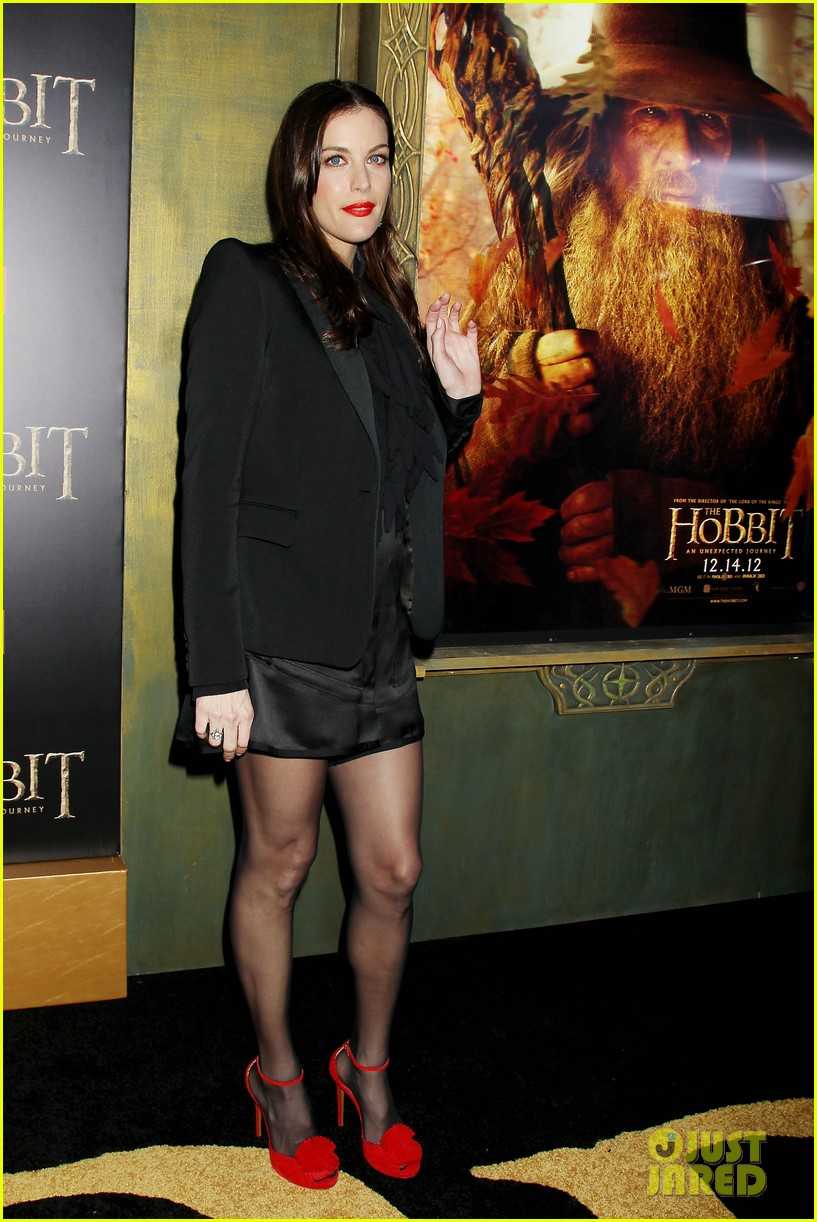 elijah wood liv tyler the hobbit new york premiere 26