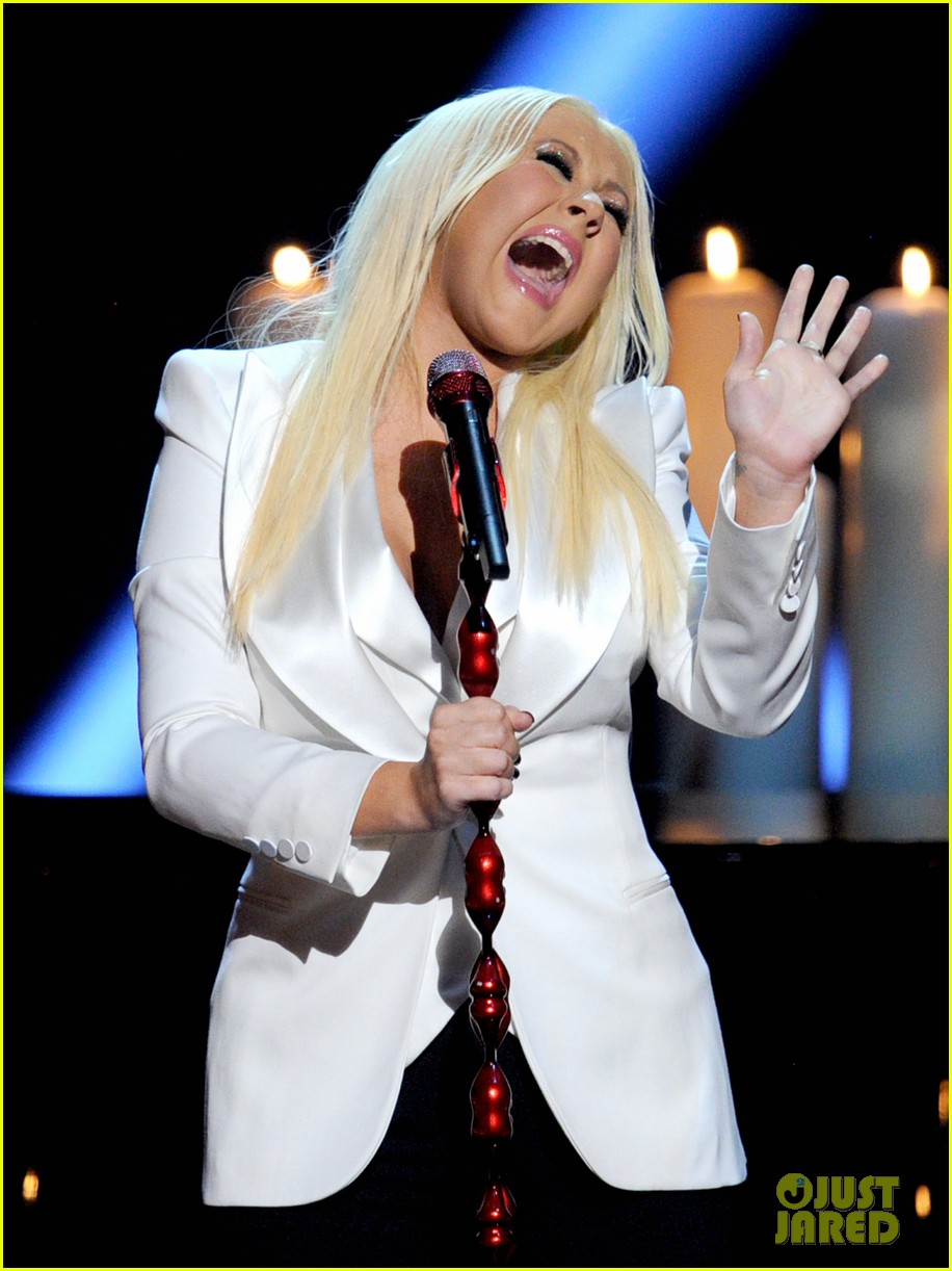 christina aguilera peoples choice 2013 142788051