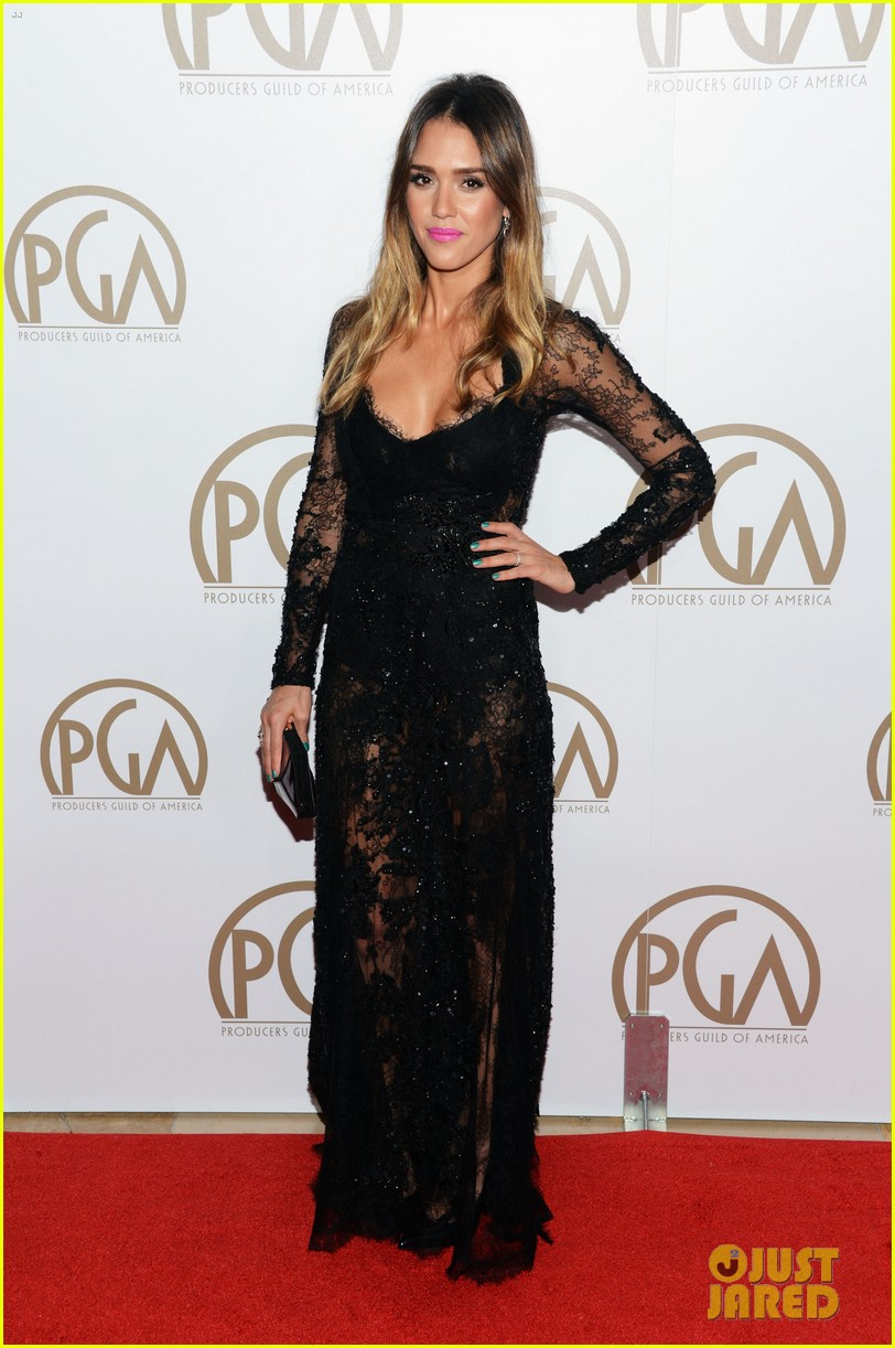 jessica alba cash warren pga red carpet 08