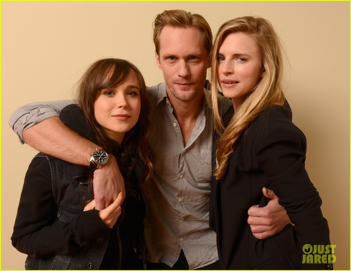 alexander skarsgard ellen page the east portraits 132795482