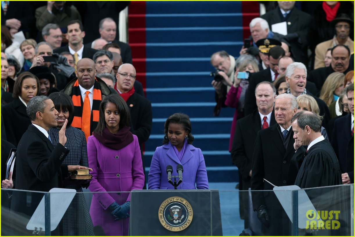 watch president obama being sworn in at second inauguration 01