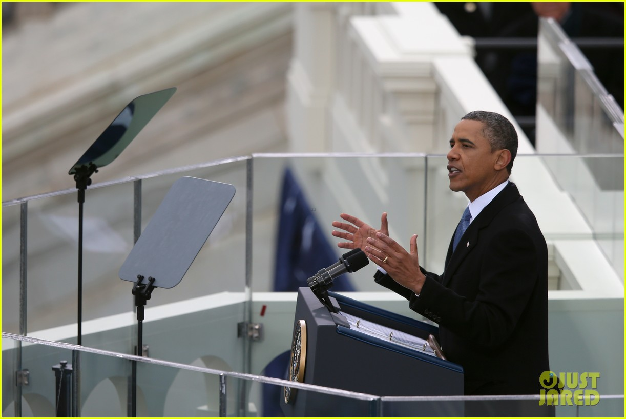 watch president obama being sworn in at second inauguration 072796124