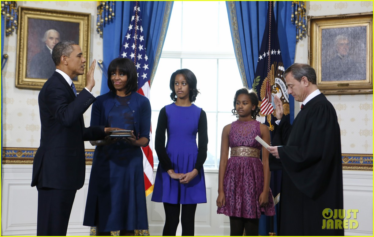 president barack obama sworn into office launches second term 03