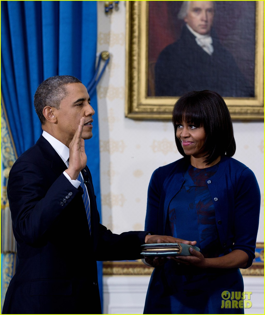 president barack obama sworn into office launches second term 082795399