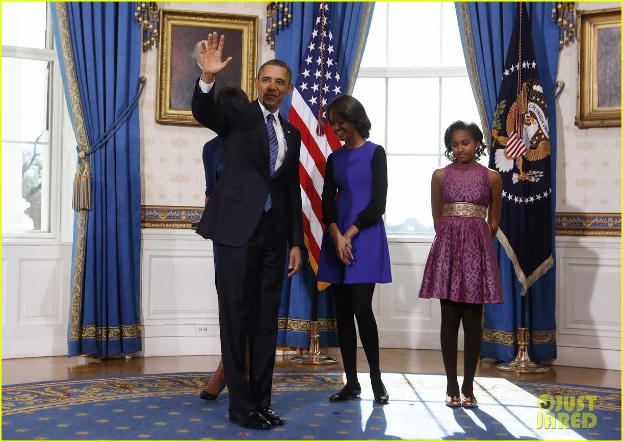 president barack obama sworn into office launches second term 19