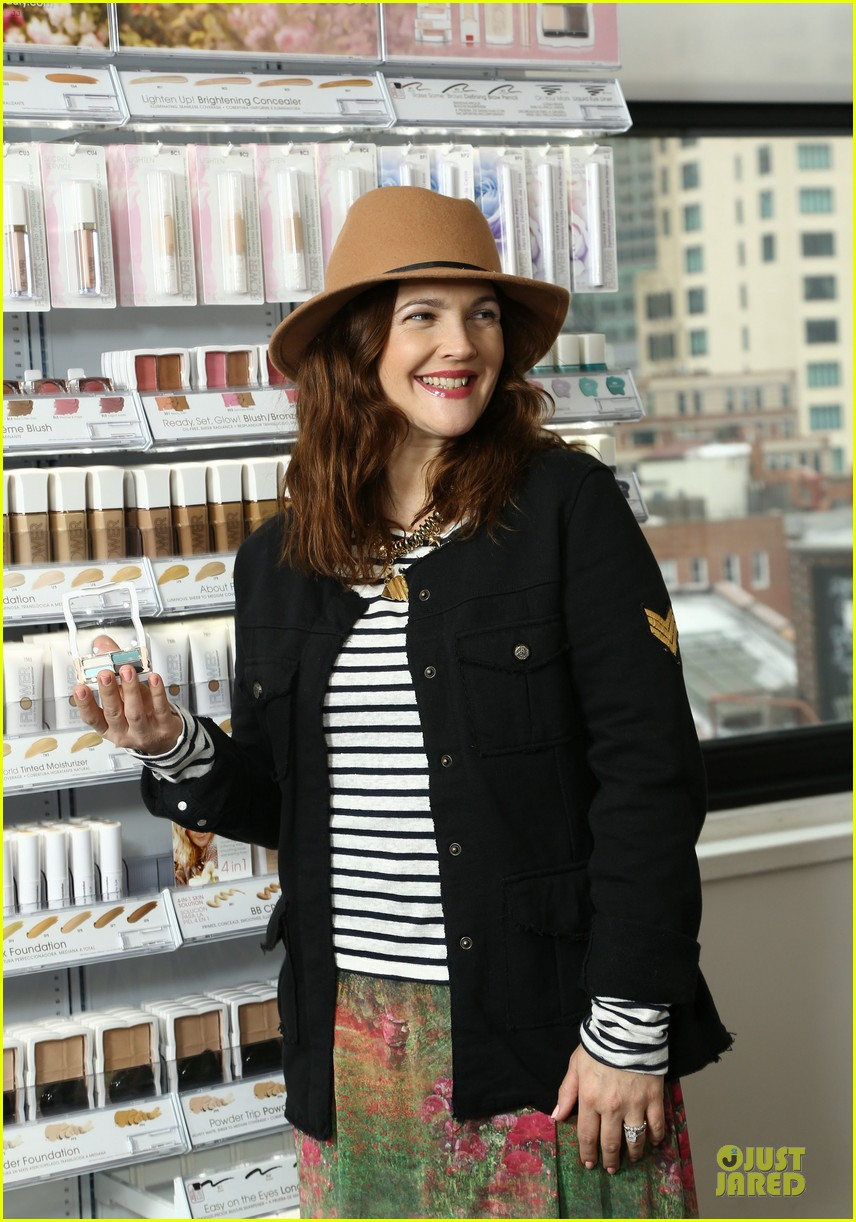 drew barrymore will kopelman flower launch party 02