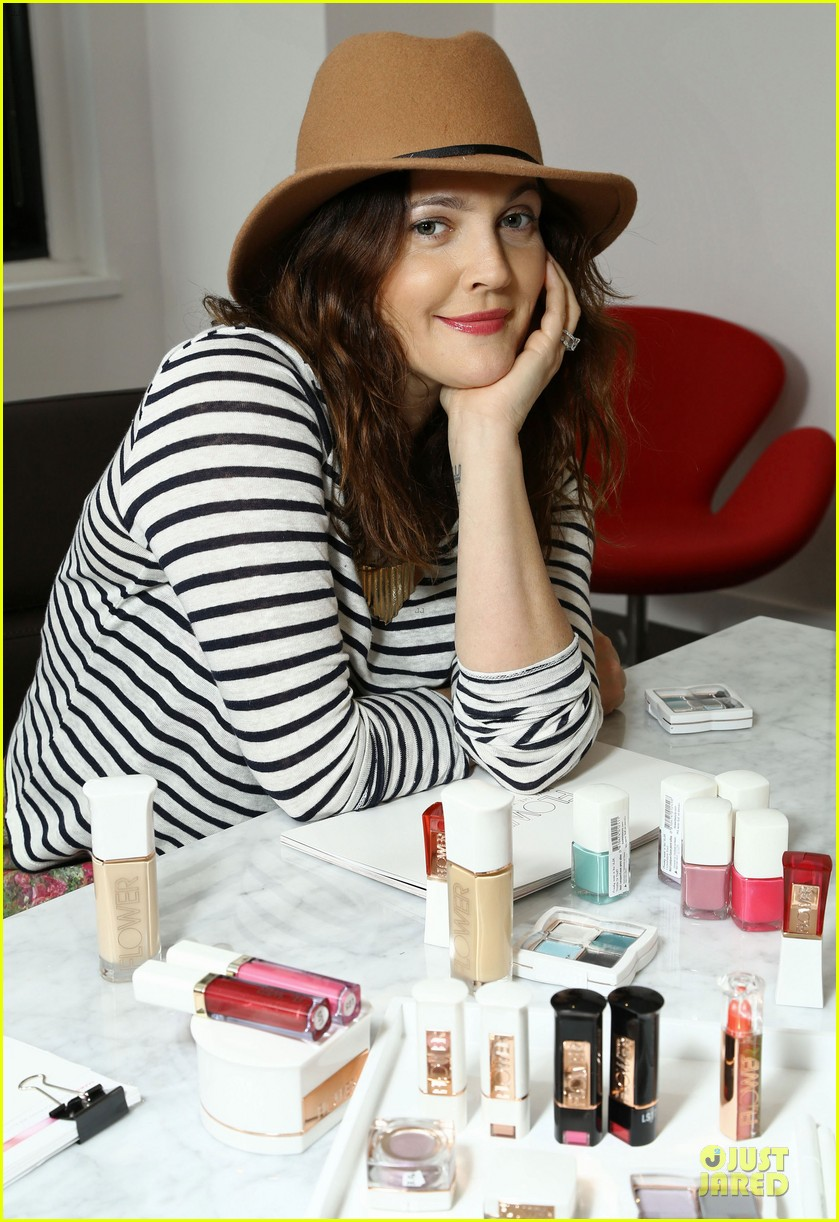 drew barrymore will kopelman flower launch party 08