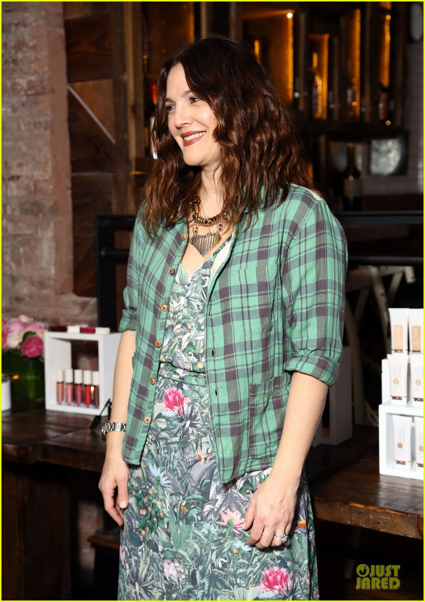 drew barrymore will kopelman flower launch party 12