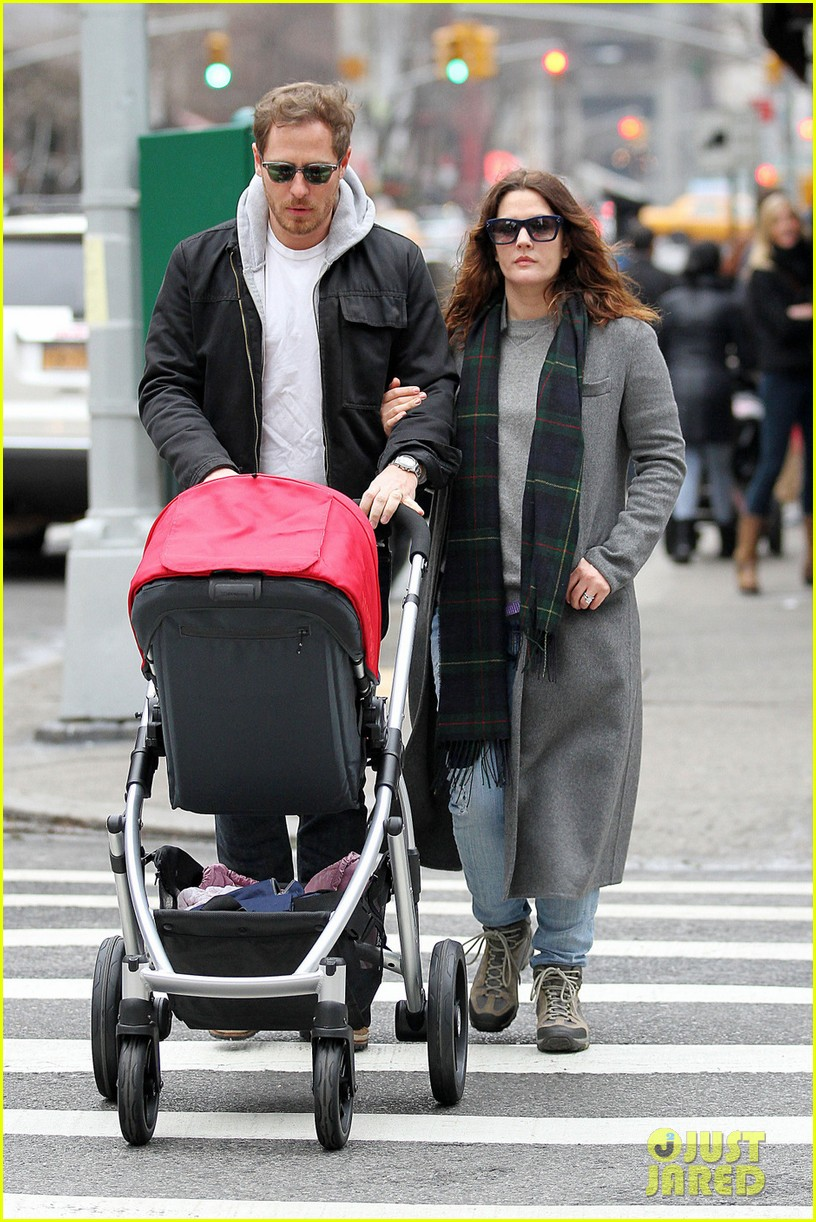 drew barrymore will kopelman saturday shopping with olive 01