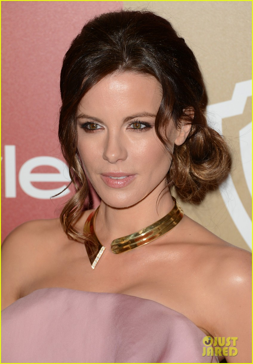 kate beckinsale instyle golden globes party 2013 07