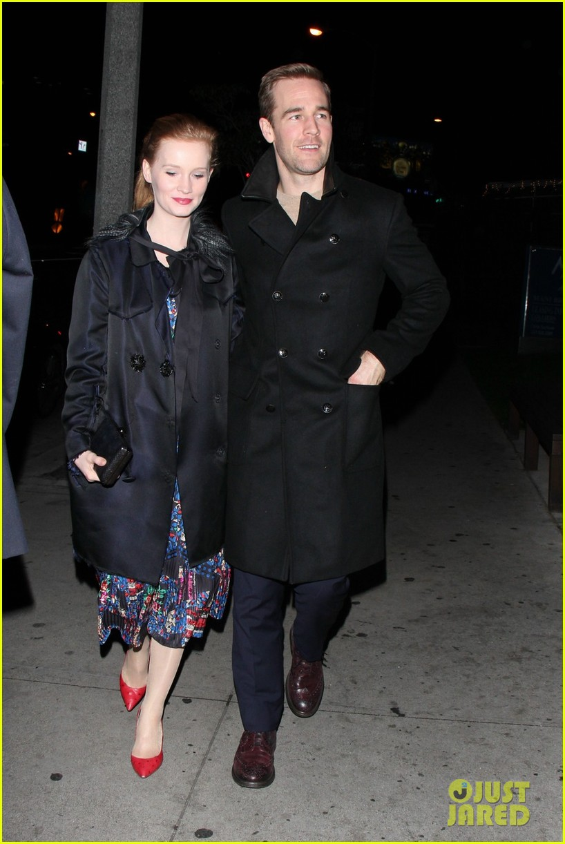 james van der beek kimberly brook boa date night 06