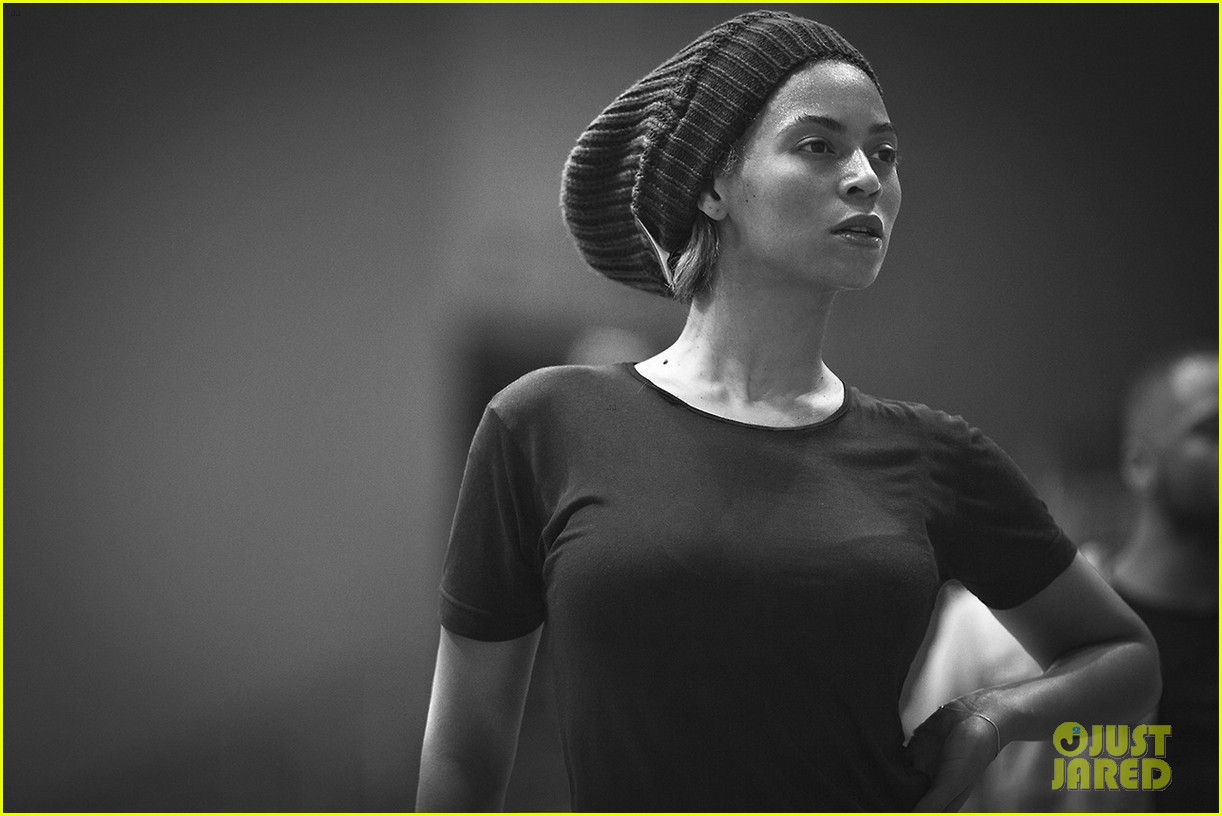 beyonce super bowl halftime show rehearsal new pics 022801499