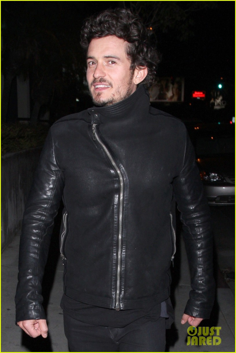 orlando bloom chateau marmont night out 04