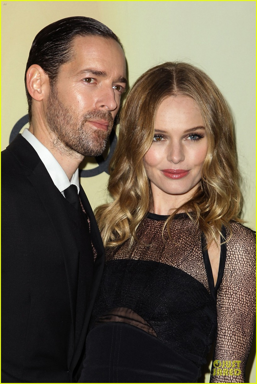 kate bosworth & michael polish sheer golden globe kick off party 16