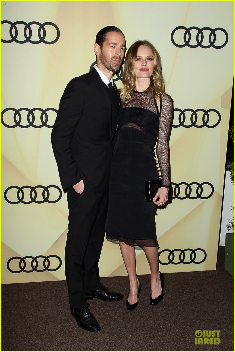 kate bosworth & michael polish sheer golden globe kick off party 20