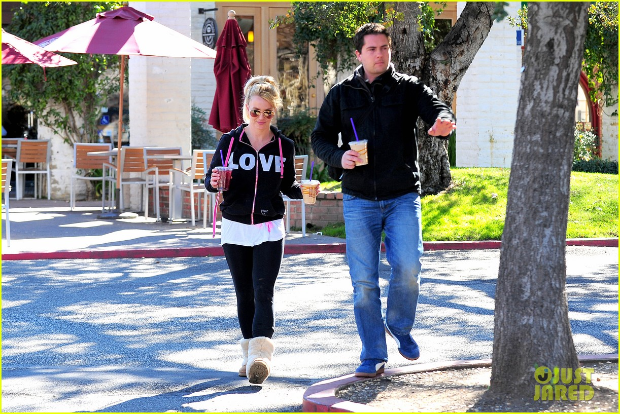 britney spears post split coffee run 09