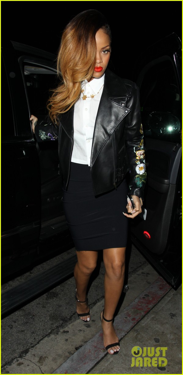 rihanna chris brown greystone manor night out 032796160