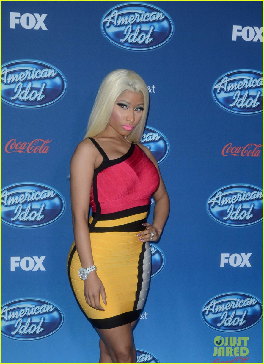 mariah carey nicki minaj american idol premiere screening 29